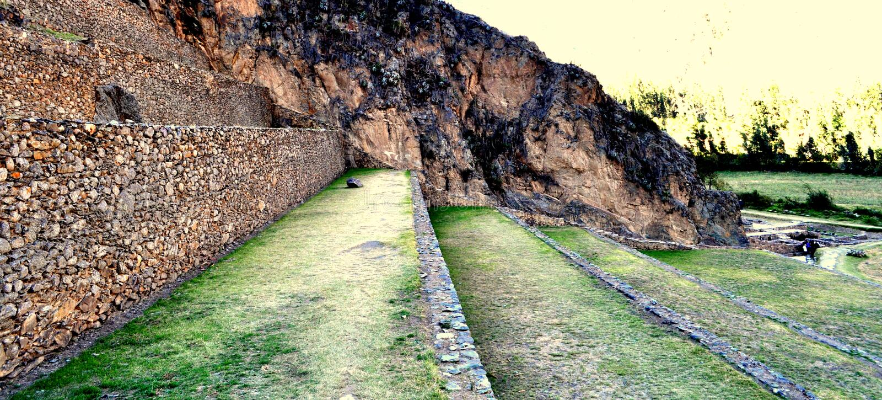 Plantação Incan imagens de stock royalty free