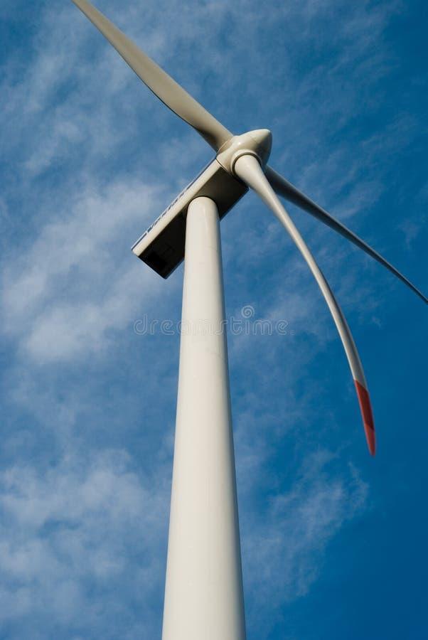 Planta 2 de la energía eólica fotografía de archivo
