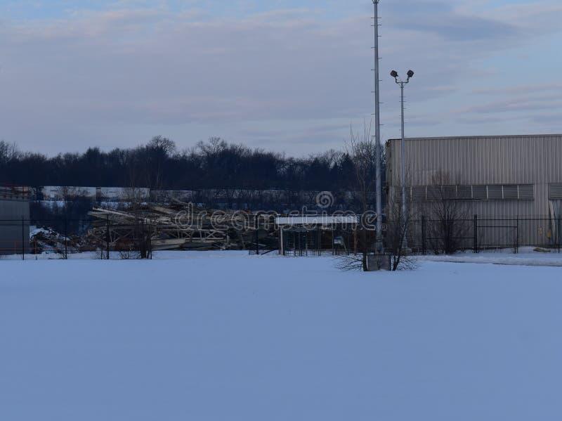 Planta abandonada do GM, Janesville, WI imagens de stock