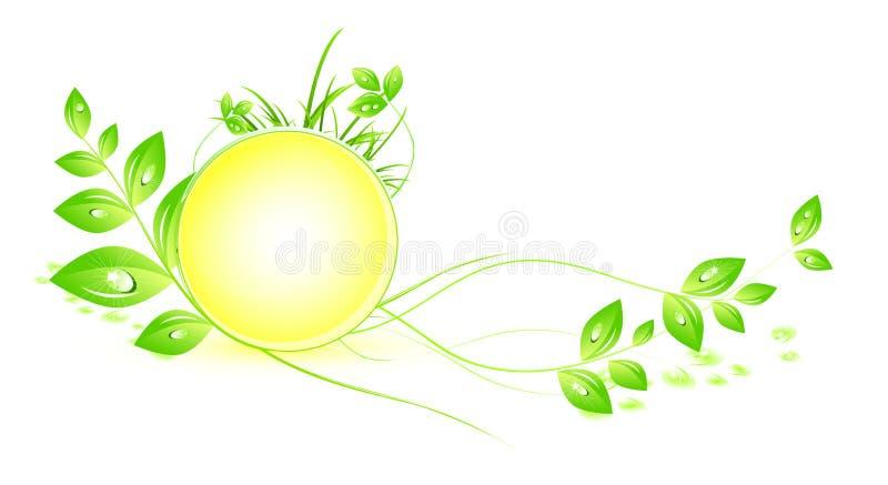 Planta ambiental stock de ilustración