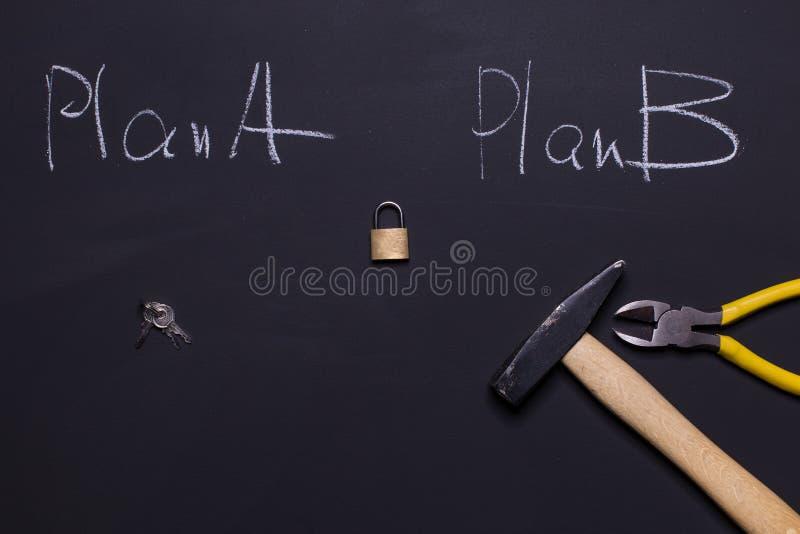 Planta B imagem de stock