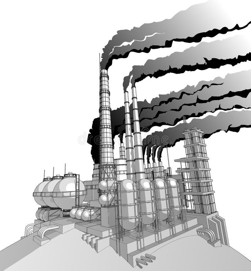 Planta con el cielo del smokey libre illustration
