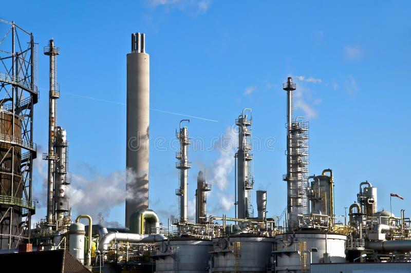 Planta da indústria química imagens de stock royalty free
