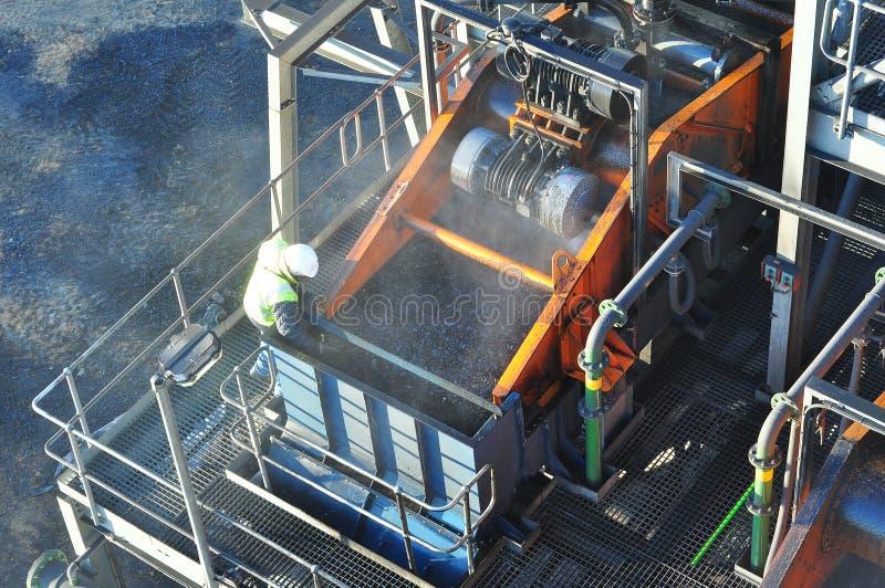 Planta da lavagem de carvão fotos de stock royalty free
