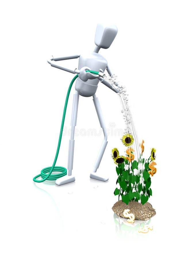 Planta de dinero libre illustration
