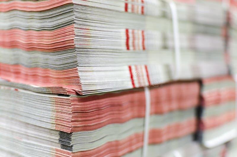 planta de impresión compensada fotografía de archivo libre de regalías