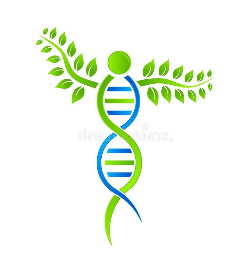 Planta de la DNA ilustración del vector