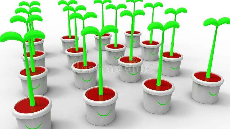Planta de semillero libre illustration