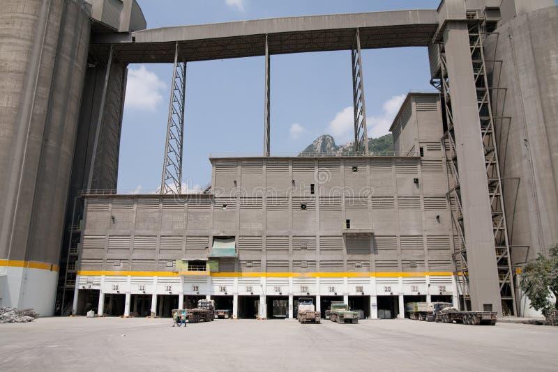 Planta del cemento de Siemens imagen de archivo libre de regalías