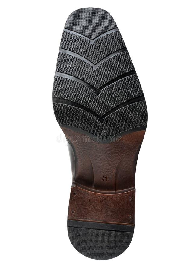Planta del pie del zapato imagen de archivo