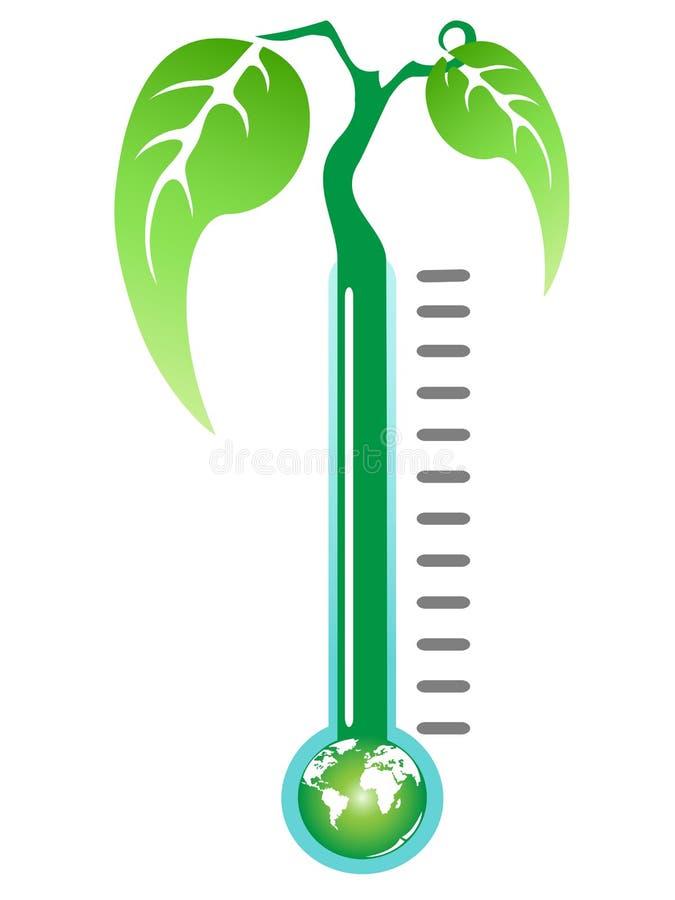 Planta del termómetro libre illustration