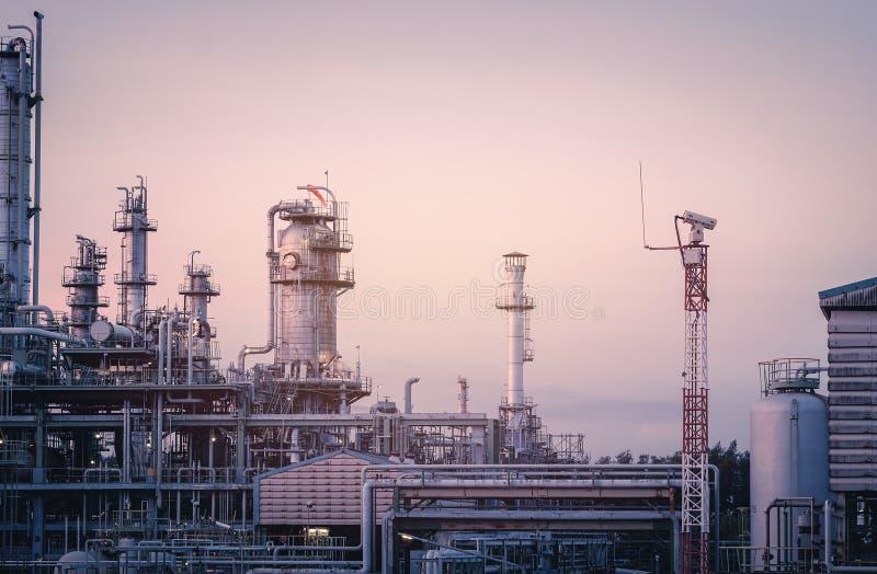 Planta industrial imagem de stock royalty free