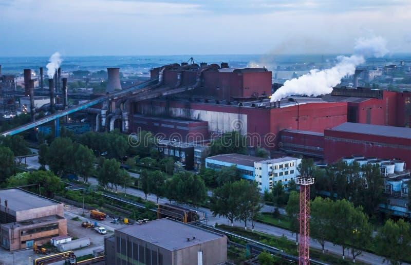 Planta industrial foto de stock royalty free