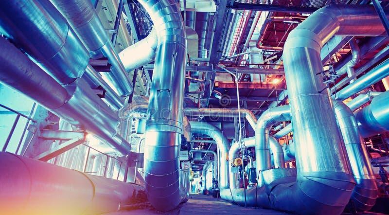 Planta industrial fotos de archivo