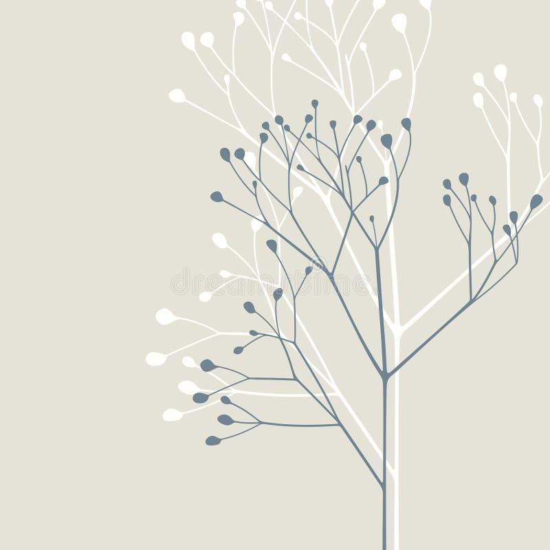 Planta muerta stock de ilustración