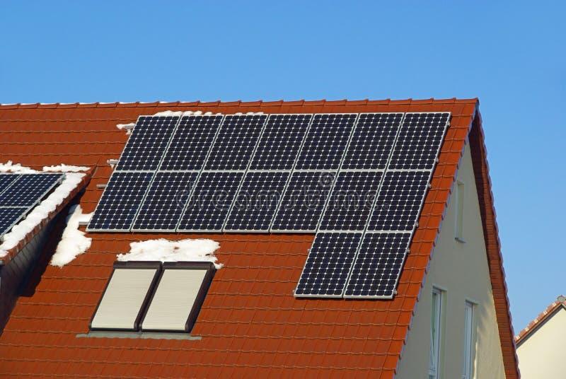 Planta solar foto de archivo libre de regalías