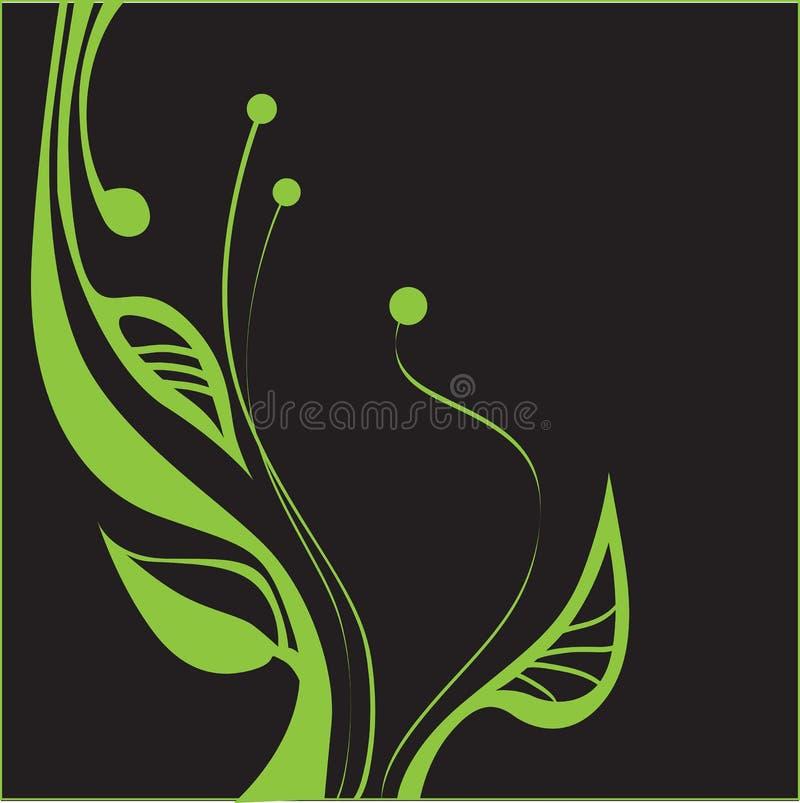 Planta verde ilustração stock