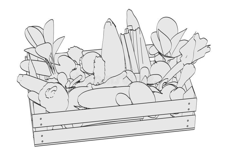 plantaardig royalty-vrije illustratie