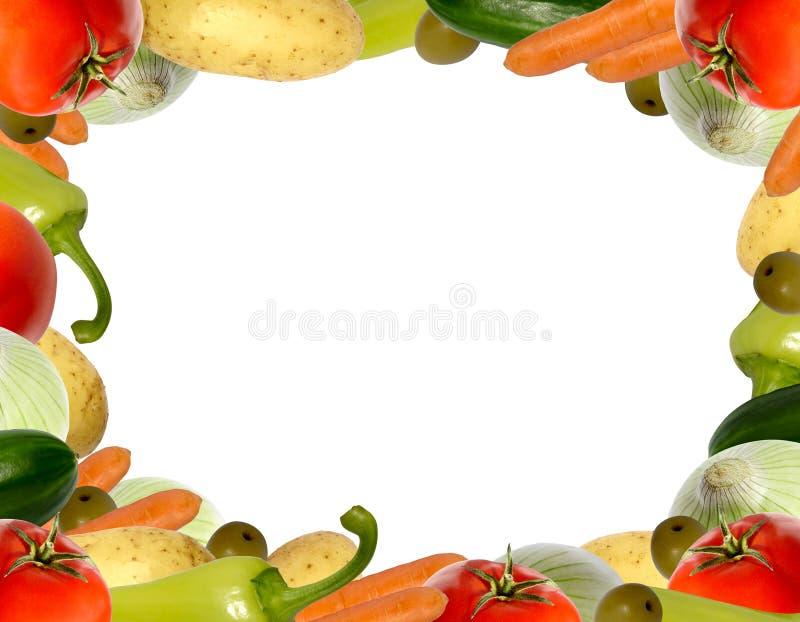 Plantaardig frame stock foto