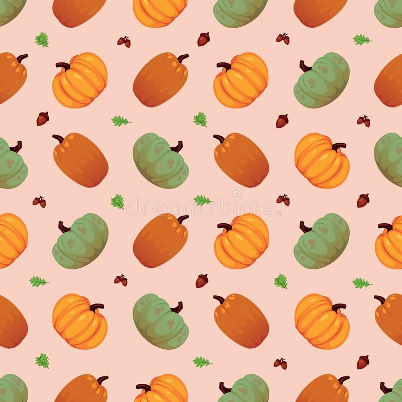 Plantaardig naadloos patroon Vegetarische reeks producten van de landbouwbedrijfmarkt vector illustratie