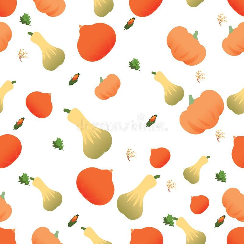 Plantaardig naadloos patroon Vegetarische reeks producten van de landbouwbedrijfmarkt stock illustratie