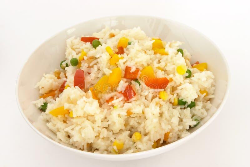 Plantaardige gebraden rijst 2 stock afbeeldingen