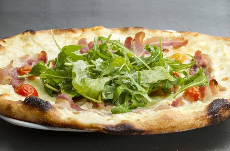 Plantaardige Pizza royalty-vrije stock fotografie