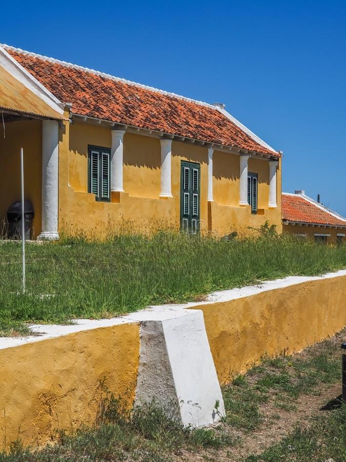 Plantacja budynków Christoffel parka narodowego Curacao domowi outside widoki zdjęcia stock