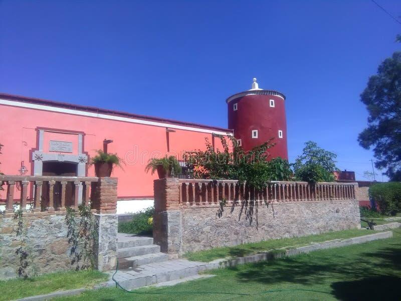 Plantage de Letras i San Luis de las Letras, Aguascalientes, México arkivbilder