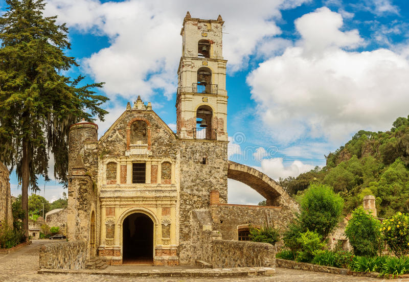 Plantage Santa Maria Regla, Hidalgo mexico royaltyfri fotografi