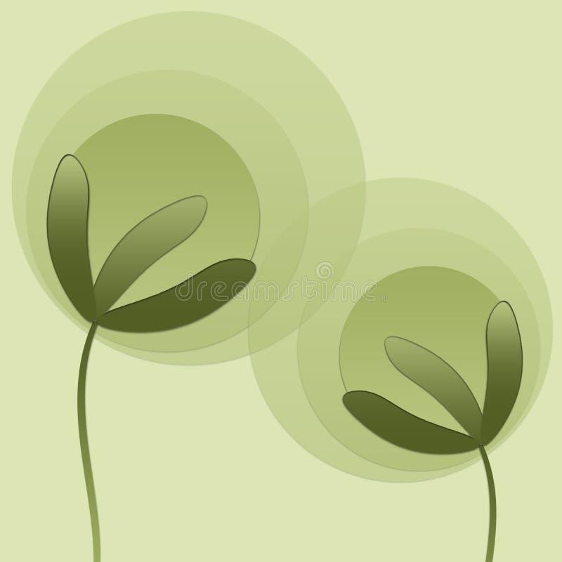 Download Plantas abstratas ilustração stock. Ilustração de verde - 12813306