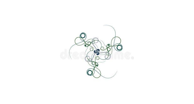plantas carnudas no fundo branco Verdes tropicais da mola fresca Abstraia o fundo floral ilustração royalty free