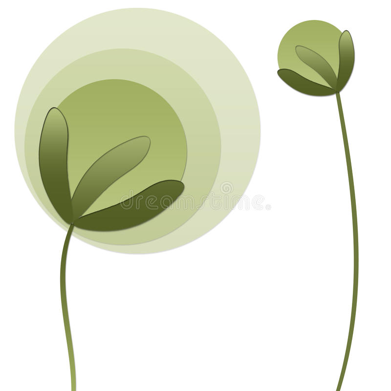 Download Plantas de Absrtact ilustração stock. Ilustração de saúde - 12813308