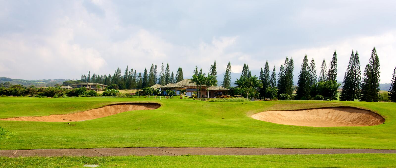 Plantation Course At Kapalua Editorial Stock Image - Image of ...