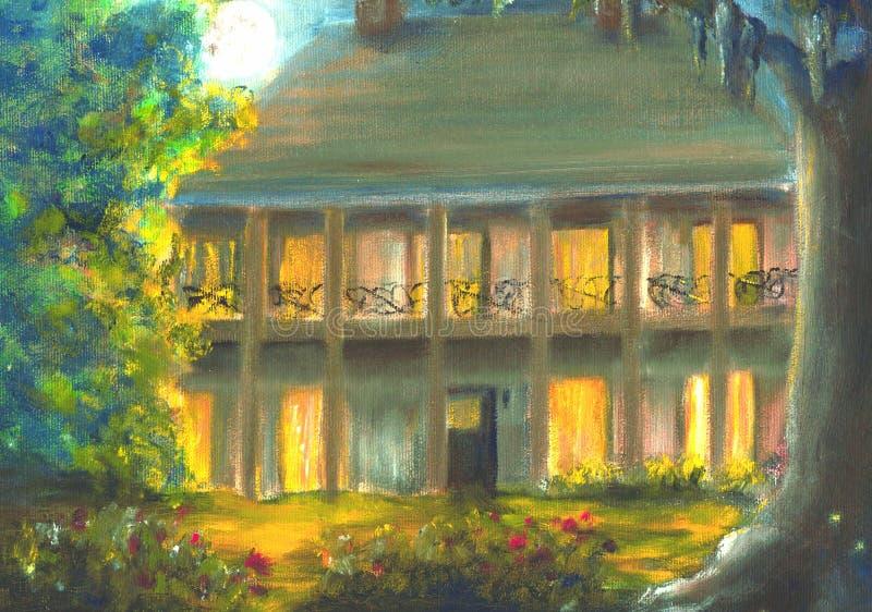 Plantation de la Louisiane photo libre de droits