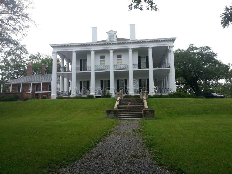 Plantation home stock image