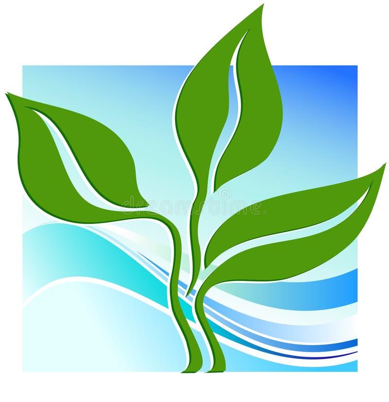 Plante verte illustration libre de droits