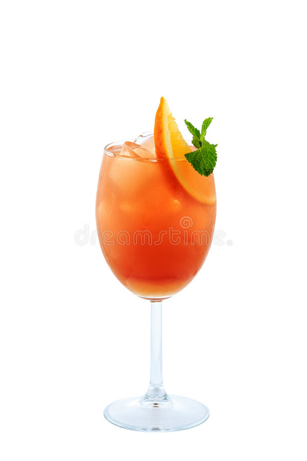 Planters punch cocktail  Planter Punch Cocktail Isolation On White Background Stock Photo ...