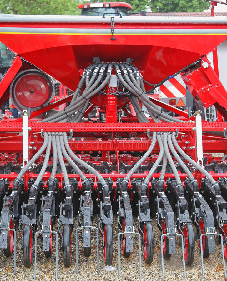 Free Planter Seeder Machine Stock Photos - 75271943