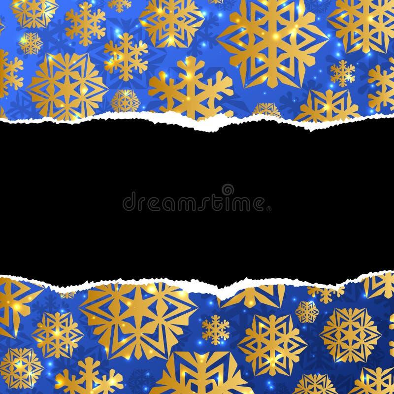 Plantilla abstracta de la Navidad ilustración del vector