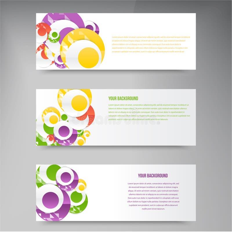 Download Plantilla Abstracta De Los Círculos Del Vector Web Del Objeto Ilustración del Vector - Ilustración de verde, copia: 44853241