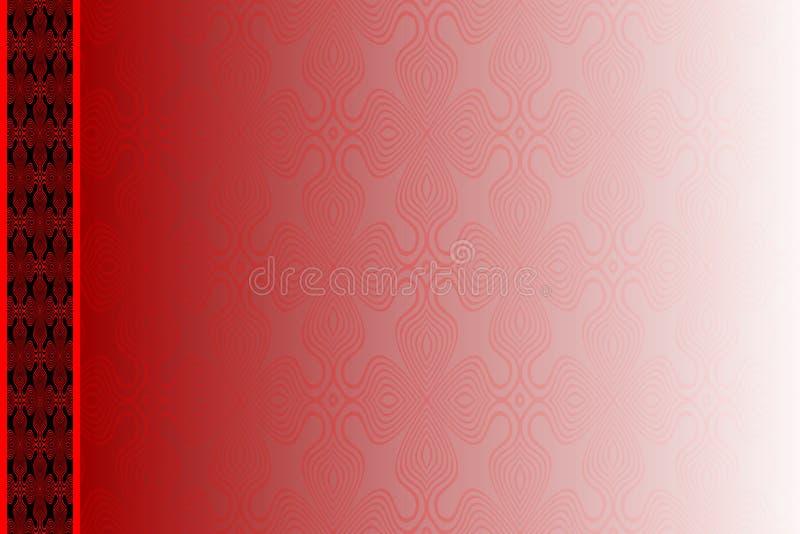 Plantilla abstracta del vector con el modelo Puede ser utilizado como la cubierta y otra del álbum de foto Fondo de la vendimia stock de ilustración