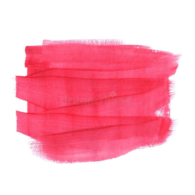 Plantilla abstracta horizontal para el texto ilustración del vector