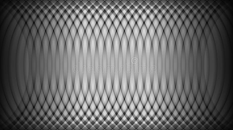 Plantilla abstracta negra del fondo ilustración del vector