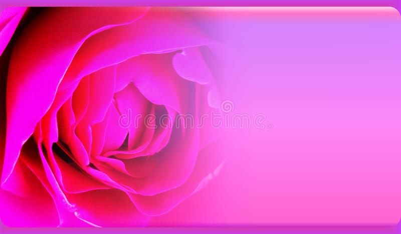 Plantilla abstracta para la página web, bandera, tarjeta de visita, invitación del fondo de la flor Diseño abstracto de la planti fotografía de archivo libre de regalías