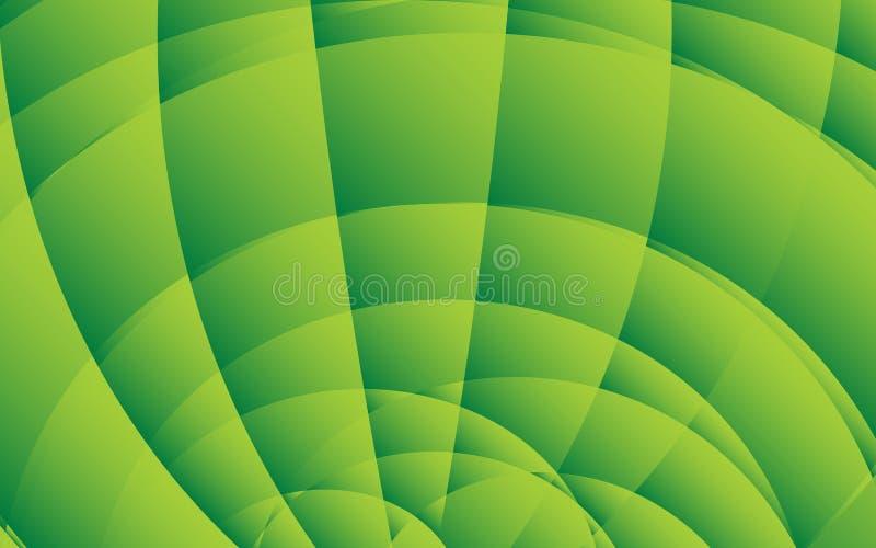 Plantilla abstracta verde del fondo, diseño de la cubierta, bandera, aviador del negocio, textura orgánica, vector libre illustration
