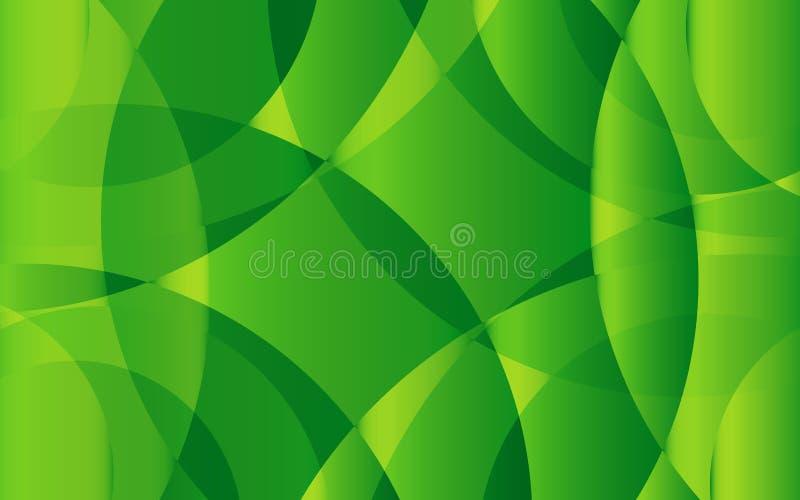 Plantilla abstracta verde del fondo, diseño de la cubierta, bandera, aviador del negocio, textura orgánica, vector ilustración del vector
