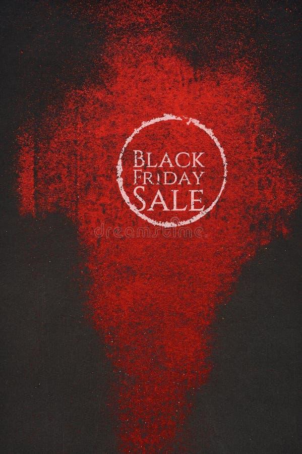 Plantilla artística del fondo de la venta de Black Friday stock de ilustración