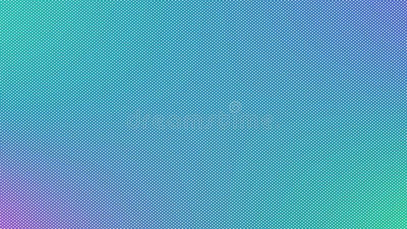 Plantilla con los círculos Burbujas borrosas en fondo abstracto stock de ilustración