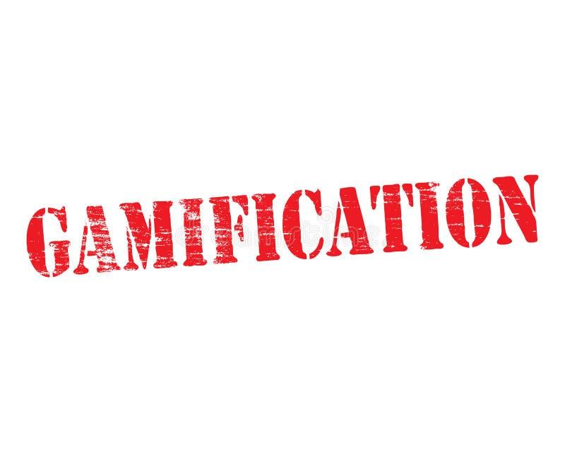 Plantilla de Gamification stock de ilustración